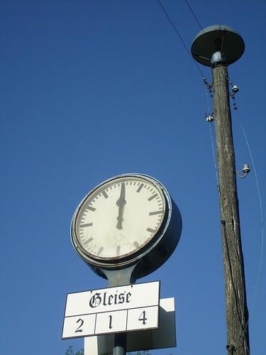 Uhr stehengeblieben