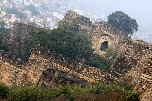 jhansi fort pictures