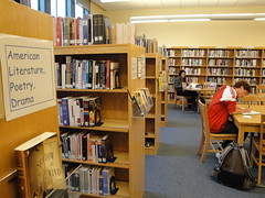 building, furniture, bookselling, room, library, public library,