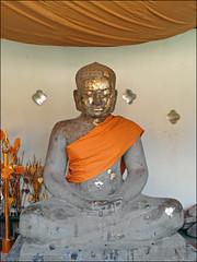 Bouddha dans le That Luang (Vientiane)