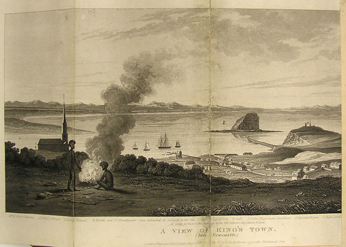 "A View of King's Town from the ""Dangar Index"". (1818 - 1820)"