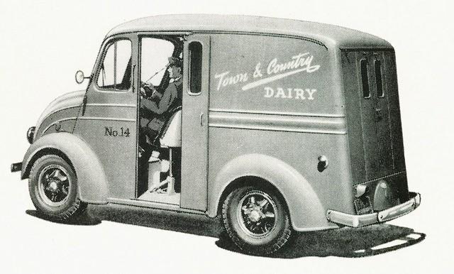 1949 Divco Delivery Truck Model UM-8E