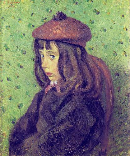 Camille Pissarro: Portrait of Felix Pissarro (1881)