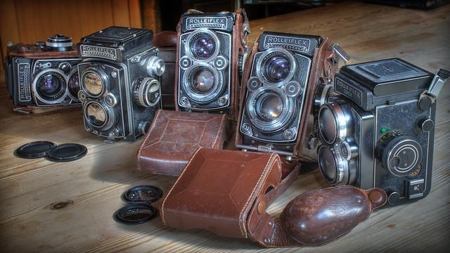 Rolleiflexes