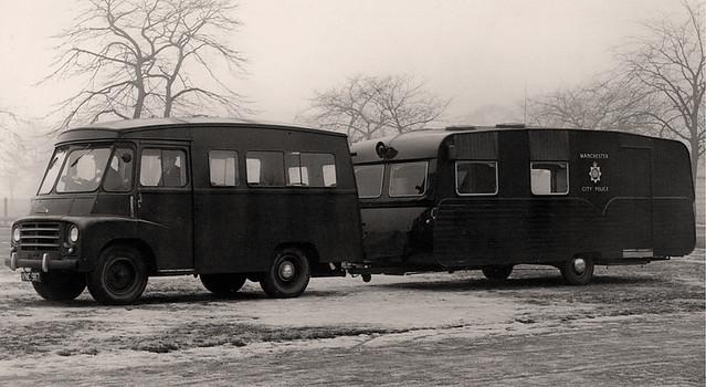 Morris Van and Trailer