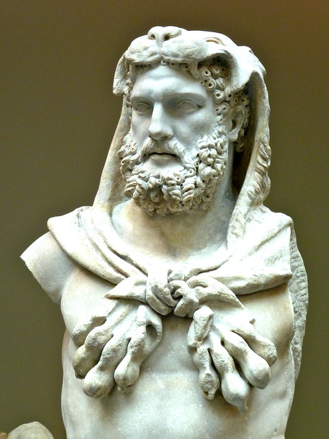 Marble Statue Of A Bearded Hercules Flickr Photo Sharing