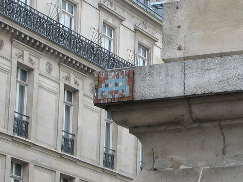 Space Invader PA_270 : Paris 10eme