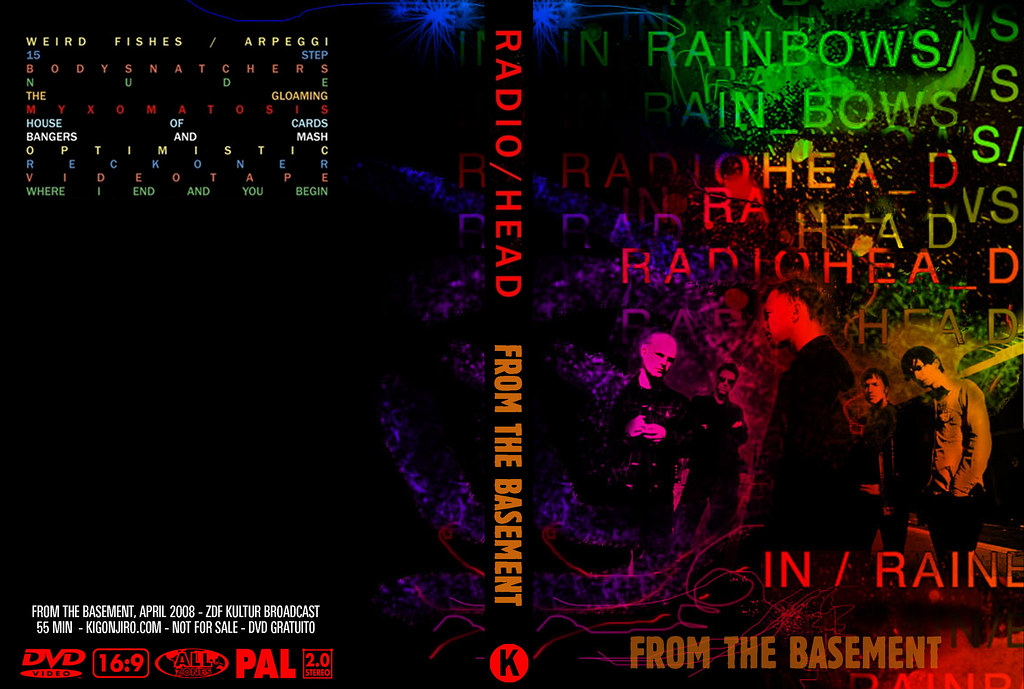 radiohead in rainbows from the basement a photo on