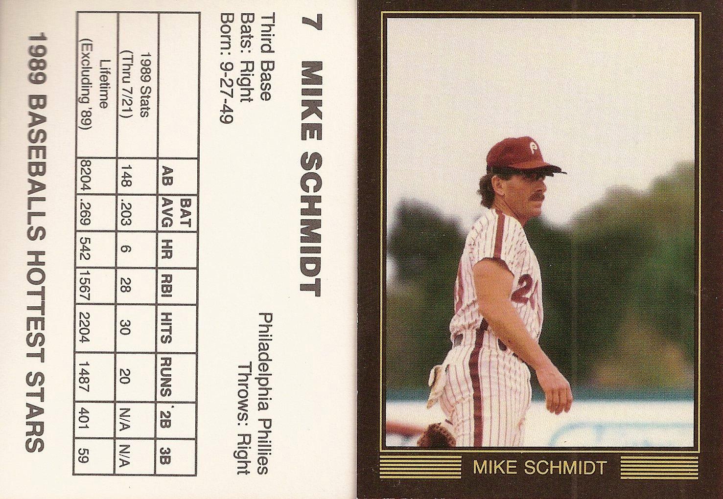 1989 Baseballs Hottest Stars