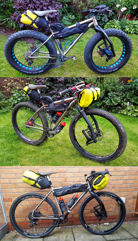 My 2 bike packing bikes