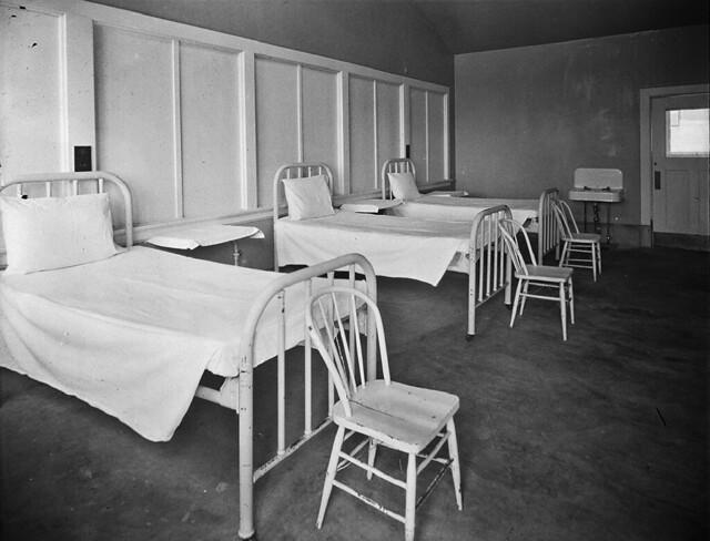 Firland Tuberculosis Hospital beds, 1927