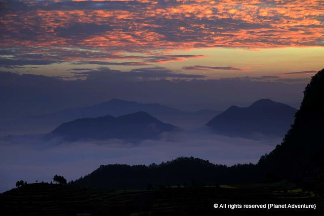 Above The Clouds - Bandipur - Annapurna Circuit Trek - Nepal