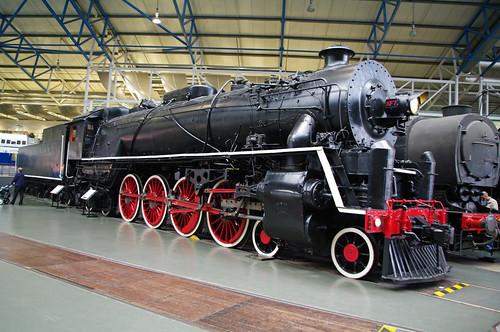 22948-York Railway Museum-2009-Chinese Government Loco