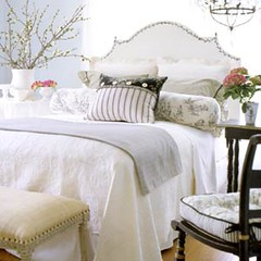 tablecloth(0.0), duvet cover(1.0), bed frame(1.0), textile(1.0), furniture(1.0), linens(1.0), room(1.0), bed sheet(1.0), bed(1.0), interior design(1.0),