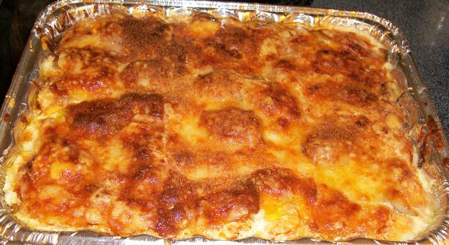 Three Cheese Scalloped Potatoes | Recipe here, allrecipes.co ...
