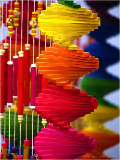 DNA colorido