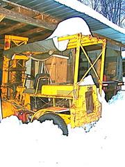 Clark Forklift Snowbound
