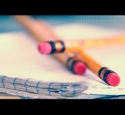 No one is perfect....that's why  pencils have erasers.