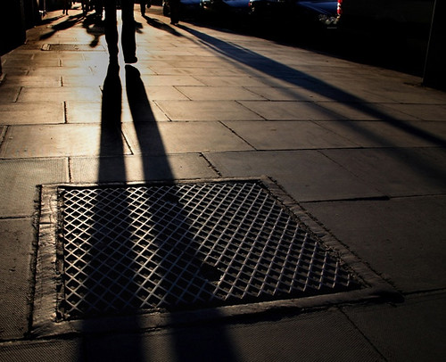 Evening shadows, Nassau Street