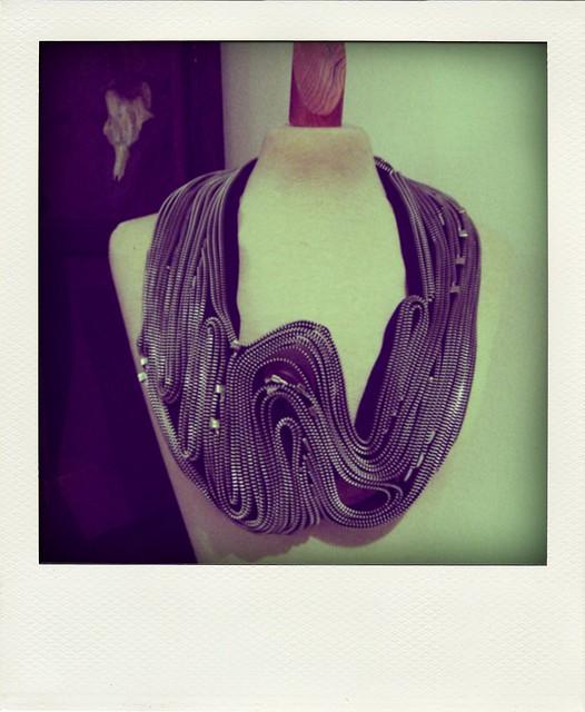 OutsaPop Trashion zipper necklace #12