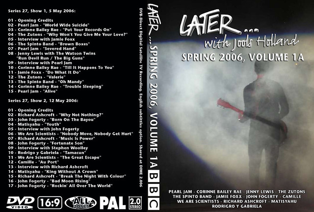 Later... S27 Chapters 1-2 1 DVD