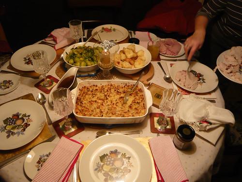 365.359: Christmas dinner