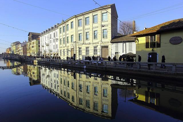 Milano am Morgen