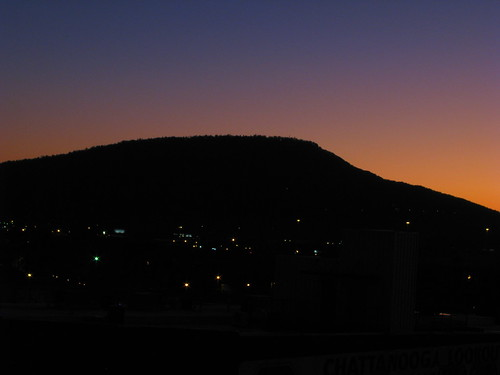 Lookout Mountain at Dusk