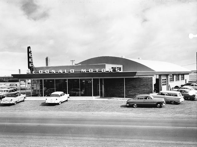 Mcdonald Motors Ford Moses Lake Wa 1953 Flickr Photo