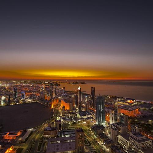 night nikon kuwait ksc tayseer 1424 kuwaitliberationtower alhamad tayseeralhamad