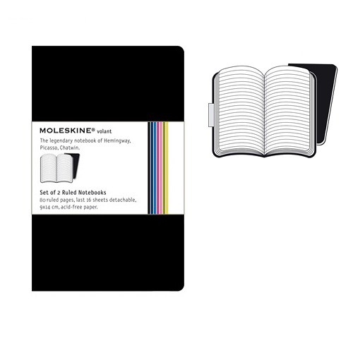 Moleskine Ruled Volant Notebook