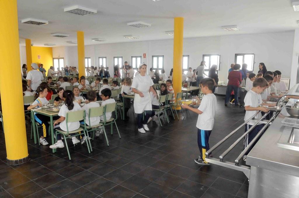 El comedor escolar del ceip playa honda abri sus puertas for El comedor escolar