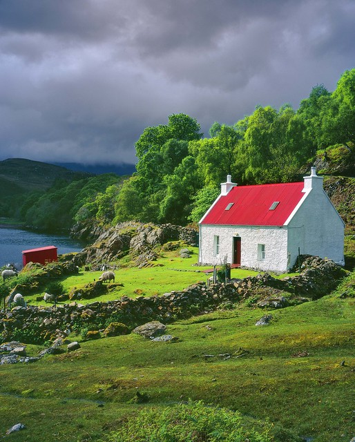 Red Roof House Applecross A Gallery On Flickr