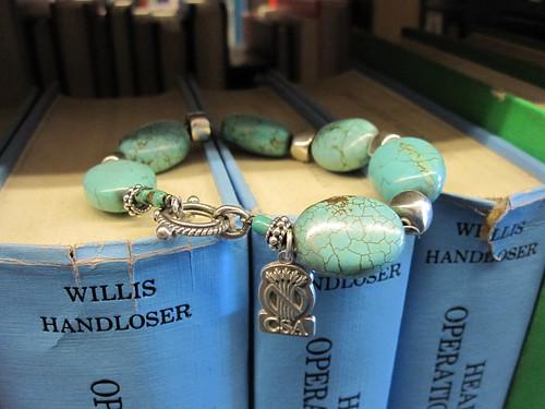 turquoise bracelet celiac