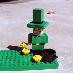 play, lego, miniature, green, toy,