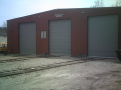 building, garage door, garage, property, door, real estate, facade, shed,