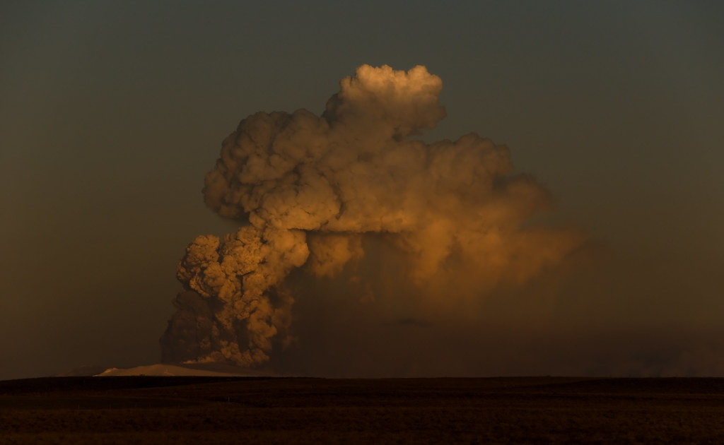 Volcanic Ash Cloud I by Kristinn R.