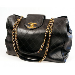 Chanel Vintage Overnight Bag