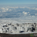 Glaciers in the Clouds - Mt. Kilmanjaro, Tanzania