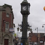 Barclays Bank and the Joseph Chamberlain Memorial Clock - Jewellery Quarter, Birmingham