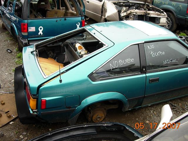 Toyota Celica Supra Junkyard