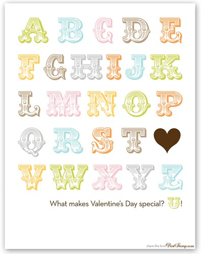 What makes Valentine's Day special? U!