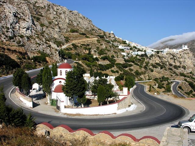 Menetes' Cemetery - Karpathos