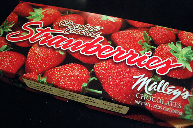 malleys chocolate covered  strawberries