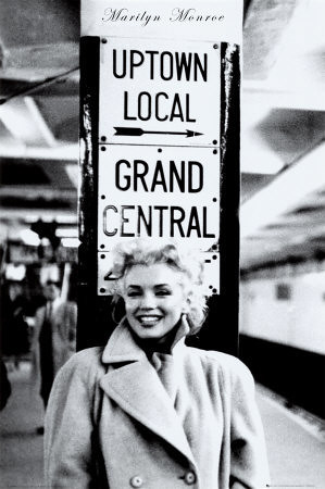 Marilyn Monroe-Grand Central Station, 1955