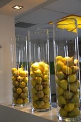 Detalle de la Decoración del Restaurante La Pera Limonera