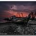 The Beautiful Sunset by ibrahem N. ALNassar