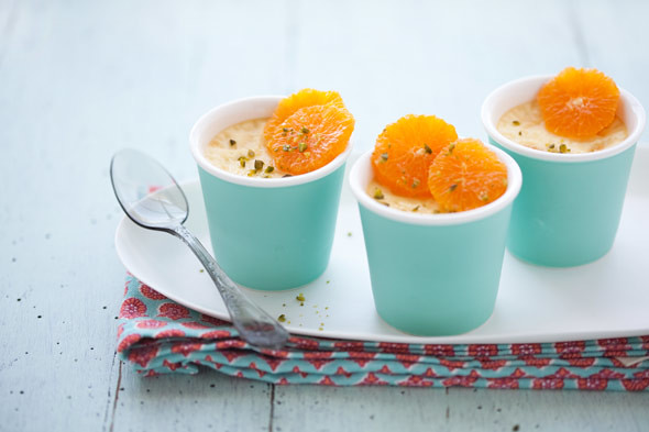 pixie tangerine and fennel pots de creme by cannelle-vanille