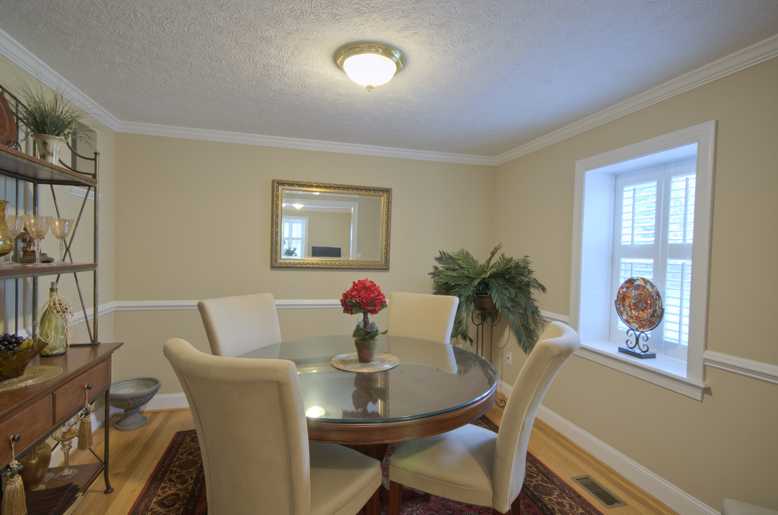 Dining Room with chair rail | Flickr - Photo Sharing!