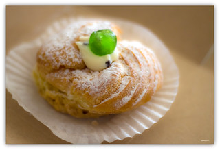 Zeppole with Cannoli Cream